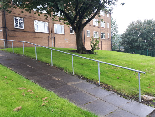 Handrails for Driveways or Ramps