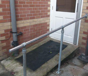Galvanised handrails